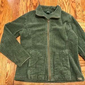 Vintage Woolrich Green Corduroy Zip Up Jacket